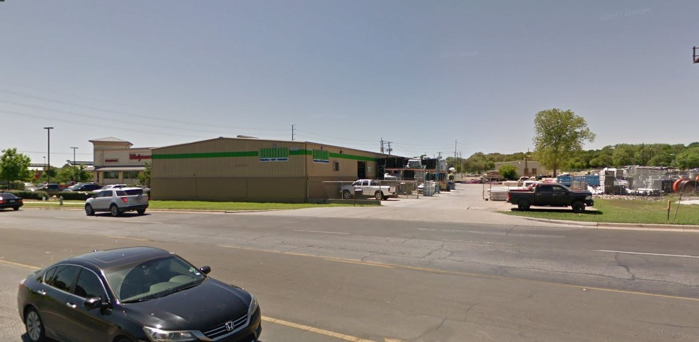 Commercial warehouse with office and retail space for lease